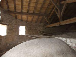 Charpente et cul-de-four, église fortifiée de la Nativité-de-la-Vierge à Dugny-sur-Meuse