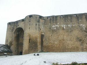 Porte d'entrée, château de Sedan