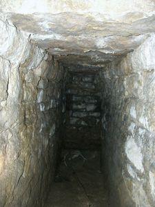 Couloir dans la barbacane, château de Sedan