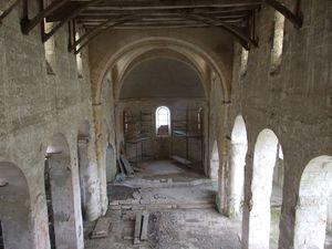 Nef [2], église fortifiée de la Nativité-de-la-Vierge à Dugny-sur-Meuse