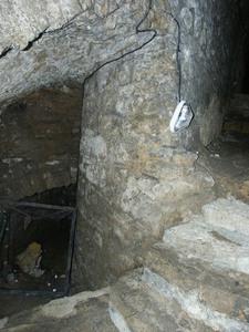 Accès barbacane, château de Sedan