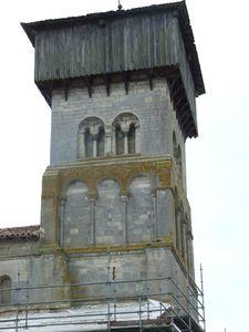 Clocher [1], église fortifiée de la Nativité-de-la-Vierge à Dugny-sur-Meuse