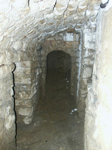 Gaine de la tour d'artillerie, château de Sedan