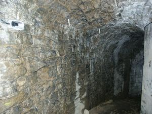 Couloir de la barbacane [2], château de Sedan